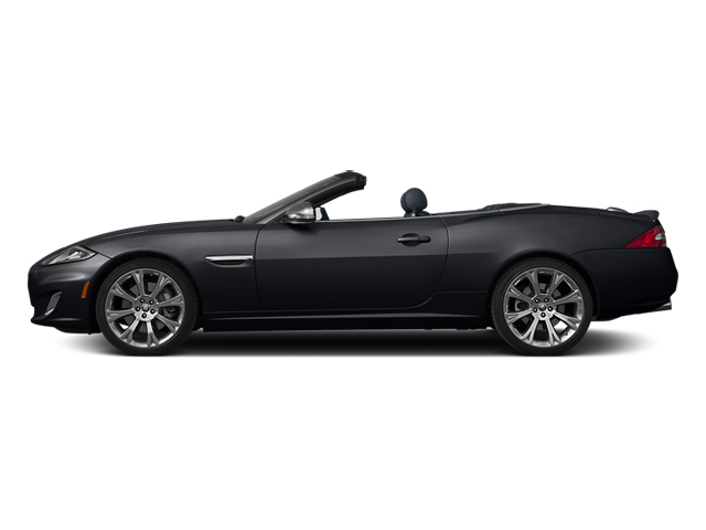 Stratus Gray Metallic 2014 Jaguar XK Pictures XK Convertible 2D XKR V8 Supercharged photos side view