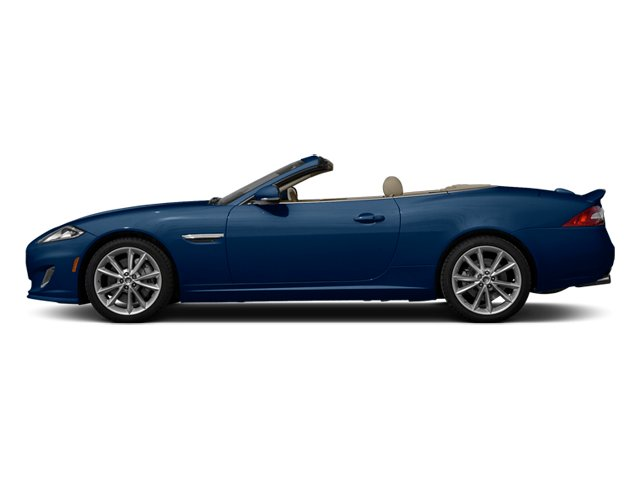 Indigo Blue Metallic 2014 Jaguar XK Pictures XK Convertible 2D Touring V8 photos side view