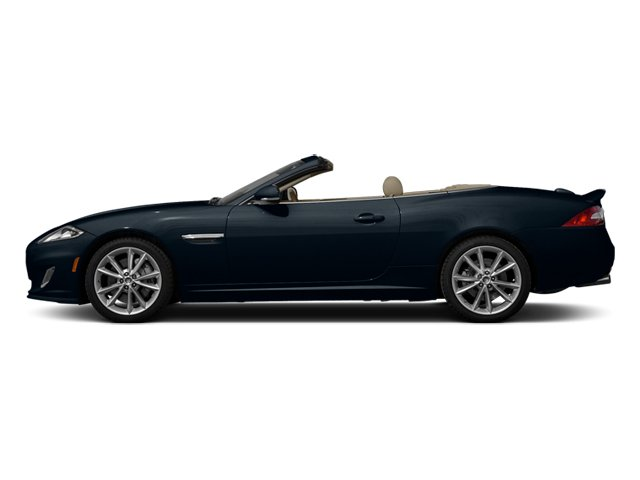 Dark Sapphire Metallic 2014 Jaguar XK Pictures XK Convertible 2D Touring V8 photos side view