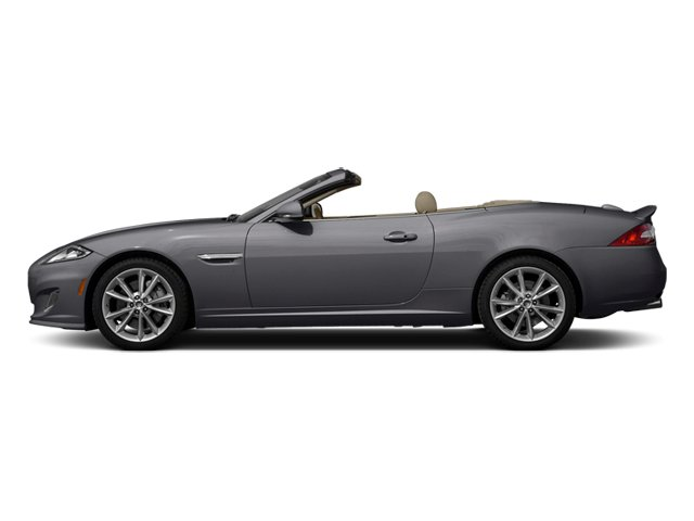 Lunar Gray Metallic 2014 Jaguar XK Pictures XK Convertible 2D Touring V8 photos side view