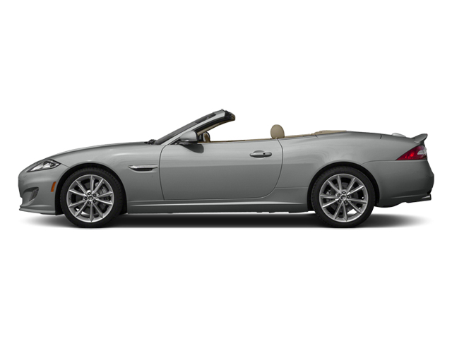 Rhodium Silver Metallic 2014 Jaguar XK Pictures XK Convertible 2D Touring V8 photos side view