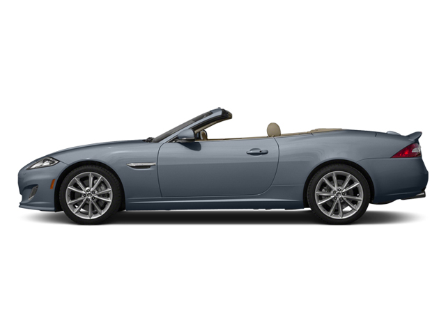 Satellite Gray Metallic 2014 Jaguar XK Pictures XK Convertible 2D Touring V8 photos side view