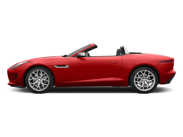 Salsa Red 2014 Jaguar F-TYPE Pictures F-TYPE Convertible 2D V6 photos side view