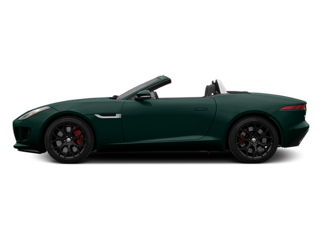 British Racing Green 2014 Jaguar F-TYPE Pictures F-TYPE Convertible 2D S V6 photos side view