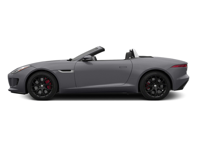 Lunar Gray Metallic 2014 Jaguar F-TYPE Pictures F-TYPE Convertible 2D S V6 photos side view