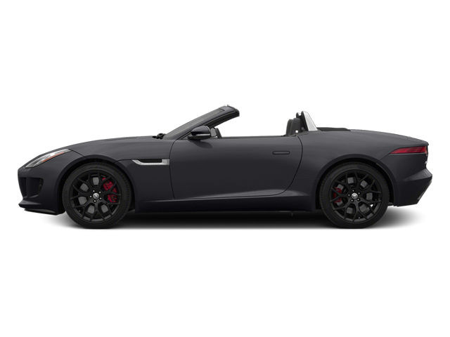 Stratus Gray Metallic 2014 Jaguar F-TYPE Pictures F-TYPE Convertible 2D S V6 photos side view
