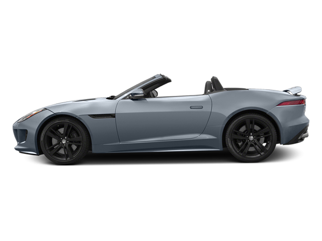 Satellite Gray Metallic 2014 Jaguar F-TYPE Pictures F-TYPE Convertible 2D S V8 photos side view