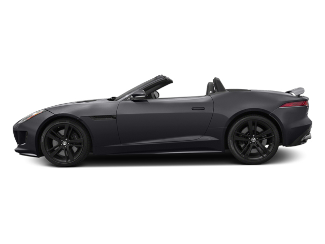 Stratus Gray Metallic 2014 Jaguar F-TYPE Pictures F-TYPE Convertible 2D S V8 photos side view