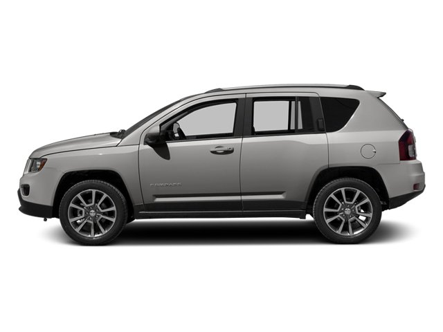 Bright Silver Metallic Clearcoat 2014 Jeep Compass Pictures Compass Utility 4D Altitude 4WD photos side view