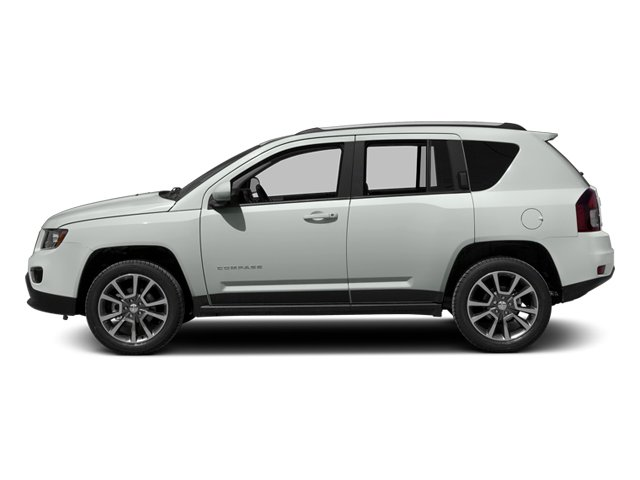 Bright White Clearcoat 2014 Jeep Compass Pictures Compass Utility 4D Altitude 4WD photos side view