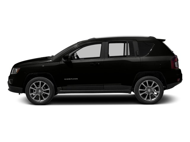 Black Clearcoat 2014 Jeep Compass Pictures Compass Utility 4D Altitude 4WD photos side view