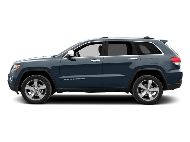 Pacific Blue Clearcoat 2014 Jeep Grand Cherokee Pictures Grand Cherokee Utility 4D Overland 2WD photos side view