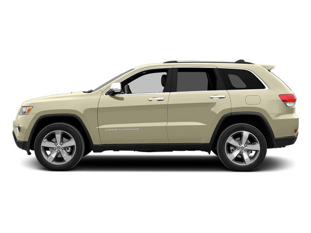 Cashmere Pearlcoat 2014 Jeep Grand Cherokee Pictures Grand Cherokee Utility 4D Overland 2WD photos side view