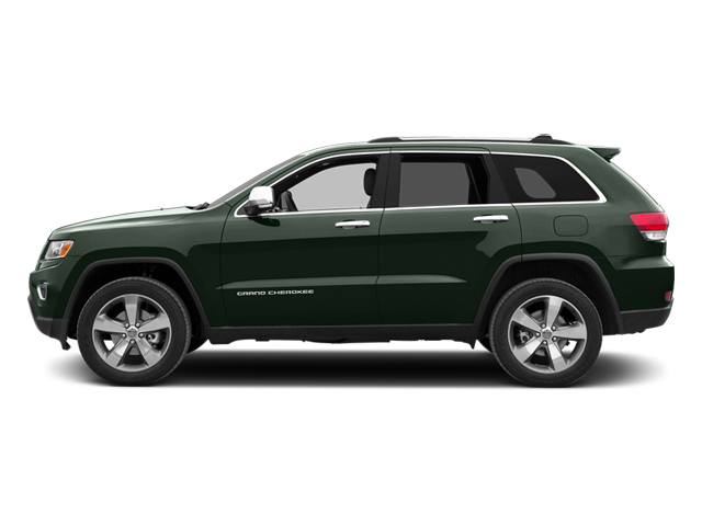 Black Forest Green Pearlcoat 2014 Jeep Grand Cherokee Pictures Grand Cherokee Utility 4D Limited 2WD photos side view