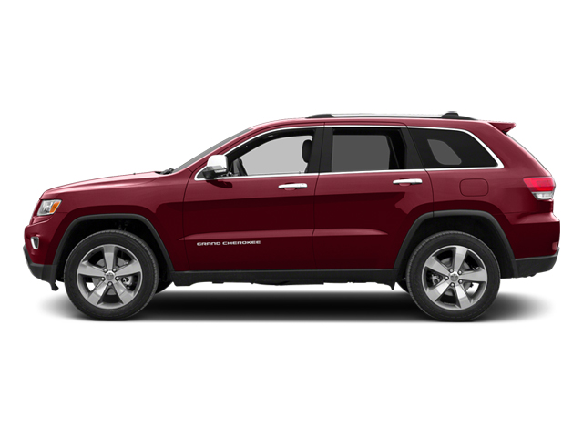 Deep Cherry Red Crystal Pearlcoat 2014 Jeep Grand Cherokee Pictures Grand Cherokee Utility 4D Overland 2WD photos side view
