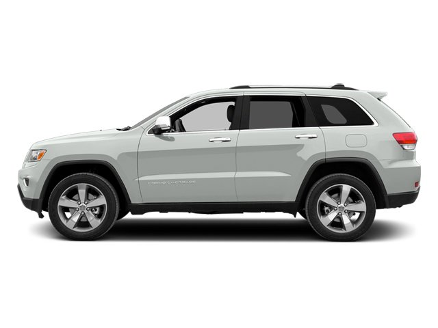 Bright White Clearcoat 2014 Jeep Grand Cherokee Pictures Grand Cherokee Utility 4D Limited Diesel 4WD photos side view