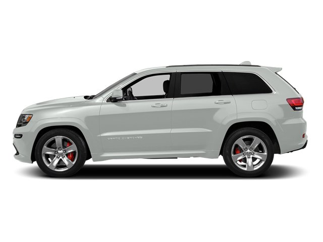 Bright White Clearcoat 2014 Jeep Grand Cherokee Pictures Grand Cherokee Utility 4D SRT-8 4WD photos side view