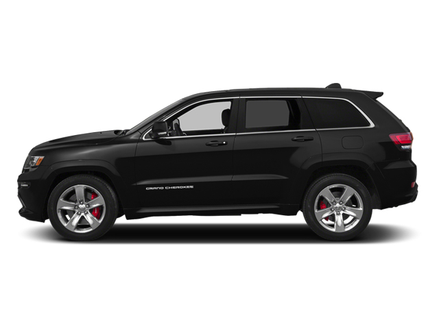Brilliant Black Crystal Pearlcoat 2014 Jeep Grand Cherokee Pictures Grand Cherokee Utility 4D SRT-8 4WD photos side view