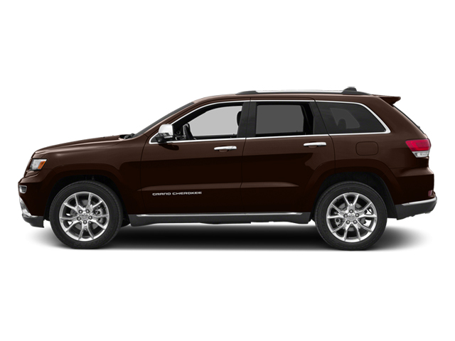 Deep Auburn Pearlcoat 2014 Jeep Grand Cherokee Pictures Grand Cherokee Utility 4D Summit 4WD photos side view