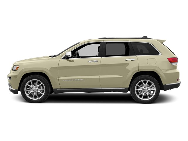 Cashmere Pearlcoat 2014 Jeep Grand Cherokee Pictures Grand Cherokee Utility 4D Summit Diesel 2WD photos side view