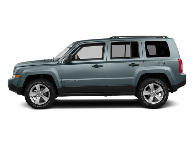 Winter Chill Pearlcoat 2014 Jeep Patriot Pictures Patriot Utility 4D Latitude 4WD photos side view