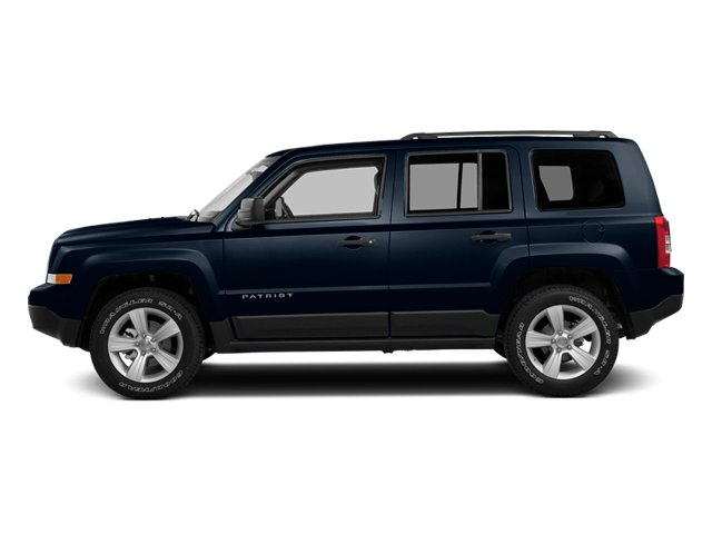 True Blue Pearlcoat 2014 Jeep Patriot Pictures Patriot Utility 4D Latitude 4WD photos side view