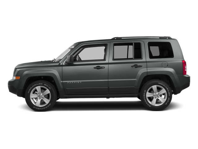 Mineral Gray Metallic Clearcoat 2014 Jeep Patriot Pictures Patriot Utility 4D Latitude 4WD photos side view