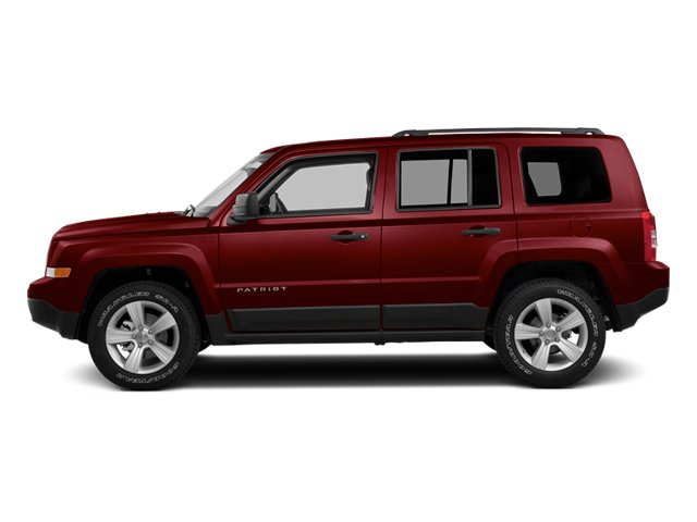 Deep Cherry Red Crystal Pearlcoat 2014 Jeep Patriot Pictures Patriot Utility 4D Latitude 4WD photos side view