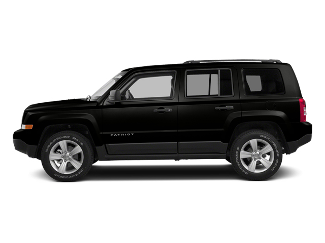 Black Clearcoat 2014 Jeep Patriot Pictures Patriot Utility 4D Latitude 4WD photos side view