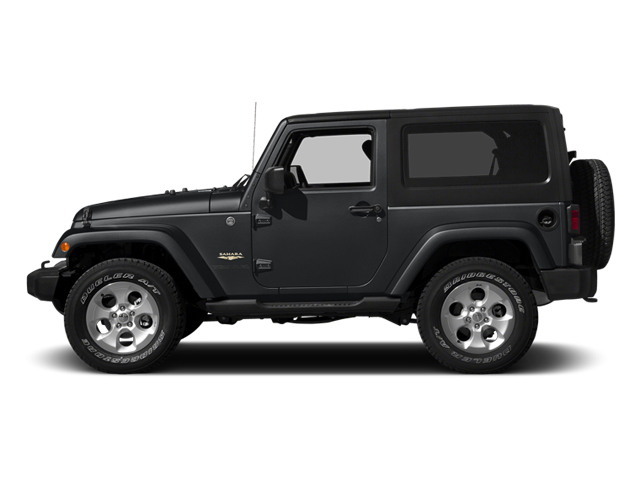 Granite Crystal Metallic Clearcoat 2014 Jeep Wrangler Pictures Wrangler Utility 2D Rubicon 4WD V6 photos side view