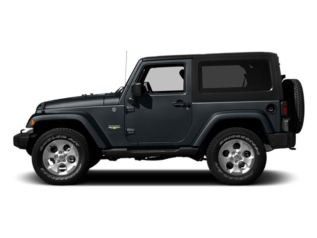 Anvil Clear Coat 2014 Jeep Wrangler Pictures Wrangler Utility 2D Rubicon 4WD V6 photos side view