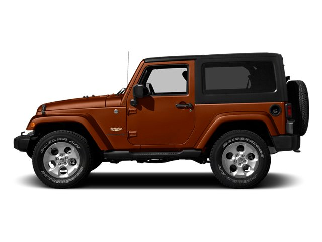 Copperhead Pearlcoat 2014 Jeep Wrangler Pictures Wrangler Utility 2D Rubicon 4WD V6 photos side view