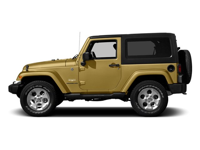 Dune Clear Coat 2014 Jeep Wrangler Pictures Wrangler Utility 2D Rubicon 4WD V6 photos side view