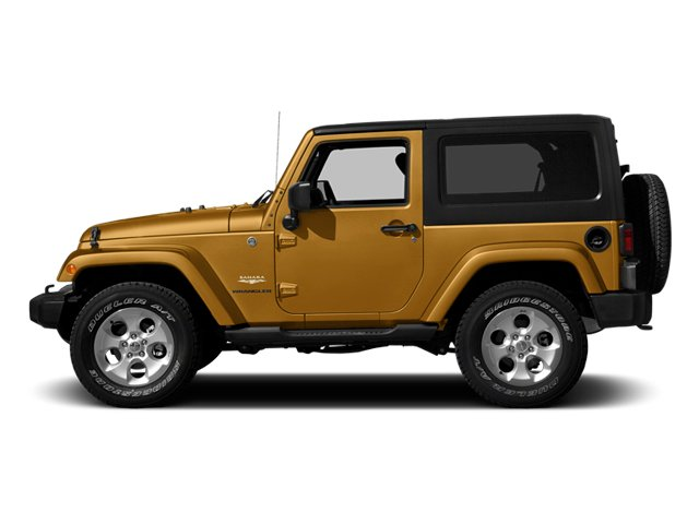 Ampd 2014 Jeep Wrangler Pictures Wrangler Utility 2D Rubicon 4WD V6 photos side view