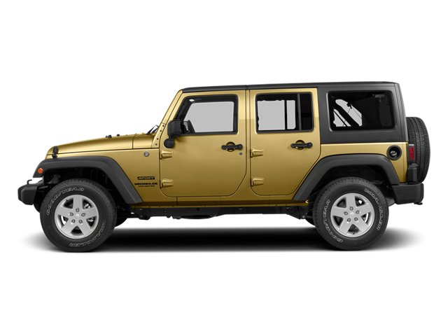 Dune Clear Coat 2014 Jeep Wrangler Unlimited Pictures Wrangler Unlimited Utility 4D Unlimited Rubicon 4WD V6 photos side view