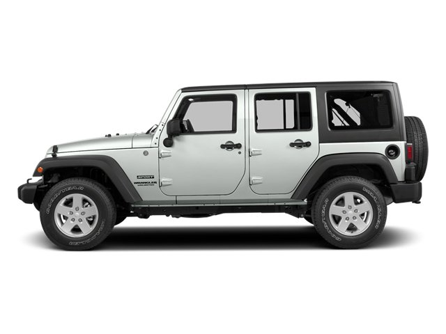 Bright White Clearcoat 2014 Jeep Wrangler Unlimited Pictures Wrangler Unlimited Utility 4D Unlimited Rubicon 4WD V6 photos side view