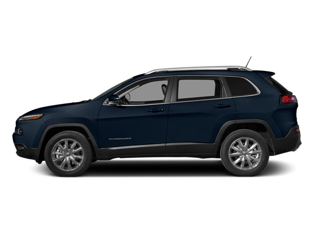 True Blue Pearlcoat 2014 Jeep Cherokee Pictures Cherokee Utility 4D Sport 4WD photos side view