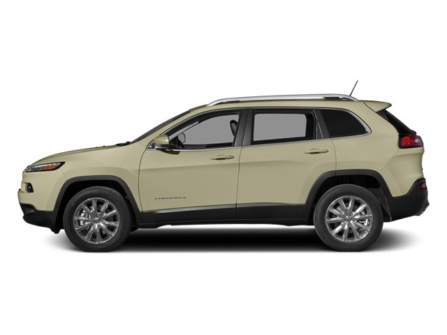 Cashmere Pearlcoat 2014 Jeep Cherokee Pictures Cherokee Utility 4D Limited 2WD photos side view