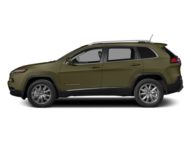 Eco Green Pearlcoat 2014 Jeep Cherokee Pictures Cherokee Utility 4D Sport 4WD photos side view
