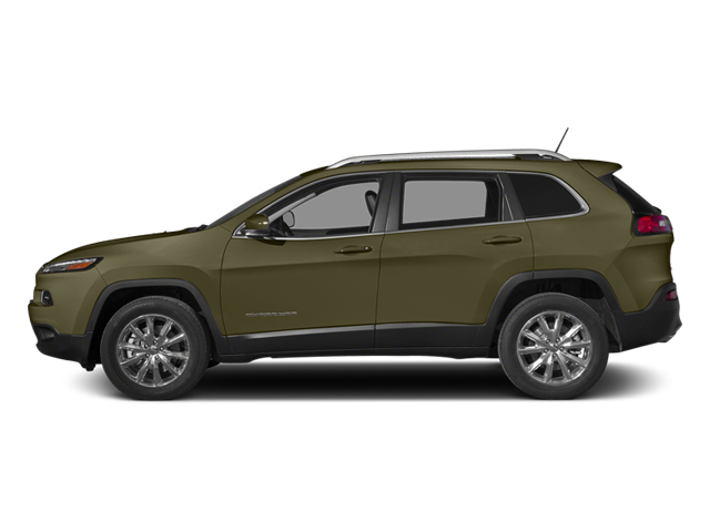 Eco Green Pearlcoat 2014 Jeep Cherokee Pictures Cherokee Utility 4D Limited 2WD photos side view