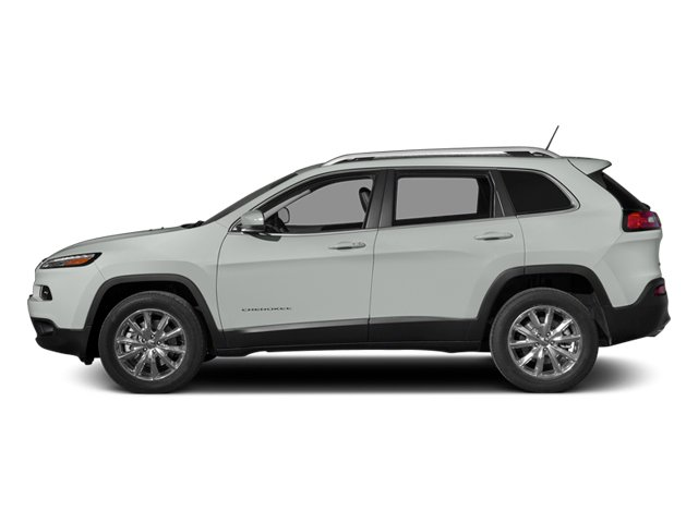 Bright White Clearcoat 2014 Jeep Cherokee Pictures Cherokee Utility 4D Sport 4WD photos side view
