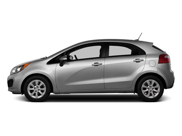 Bright Silver 2014 Kia Rio Pictures Rio Hatchback 5D SX I4 photos side view