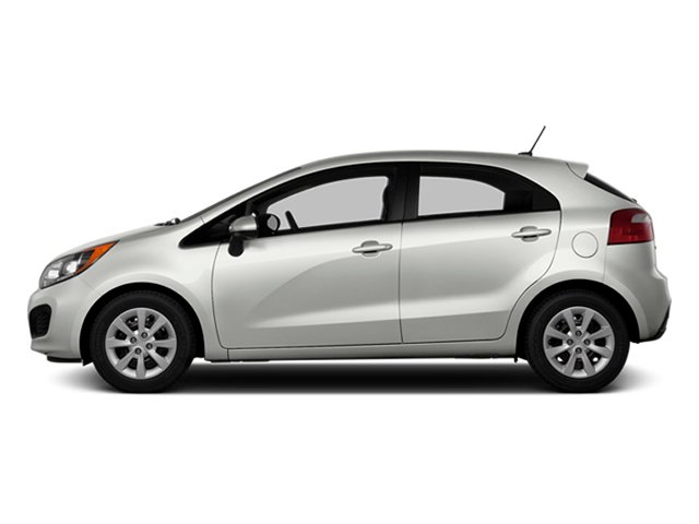 Clear White 2014 Kia Rio Pictures Rio Hatchback 5D SX I4 photos side view