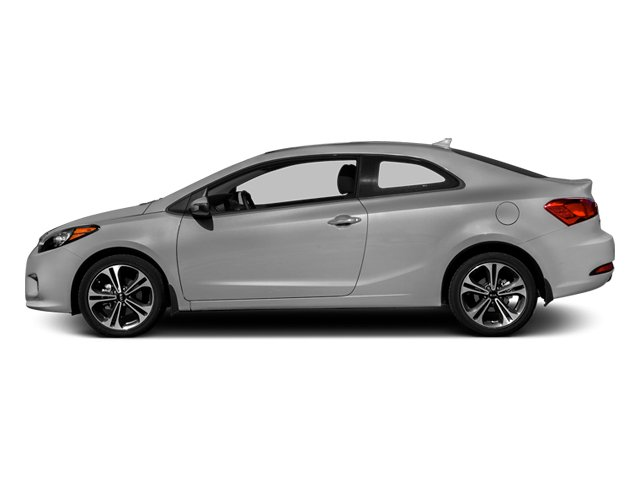 Bright Silver 2014 Kia Forte Koup Pictures Forte Koup Coupe 2D EX I4 photos side view