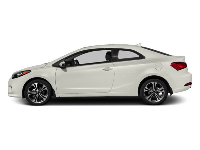 Snow White Pearl 2014 Kia Forte Koup Pictures Forte Koup Coupe 2D EX I4 photos side view