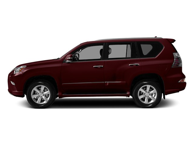 Claret Mica 2014 Lexus GX 460 Pictures GX 460 Utility 4D Luxury 4WD V8 photos side view
