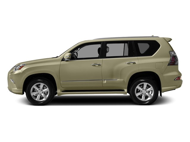 Satin Cashmere Metallic 2014 Lexus GX 460 Pictures GX 460 Utility 4D Luxury 4WD V8 photos side view