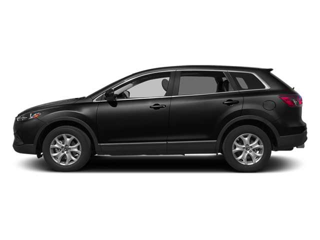 Jet Black Mica 2014 Mazda CX-9 Pictures CX-9 Utility 4D Sport 2WD V6 photos side view