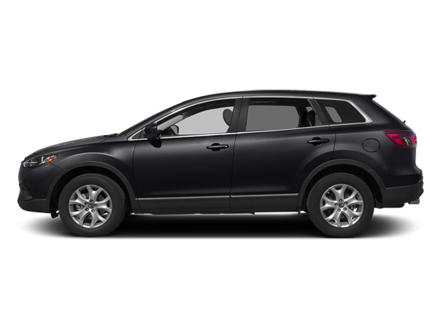 Meteor Gray Mica 2014 Mazda CX-9 Pictures CX-9 Utility 4D Sport 2WD V6 photos side view