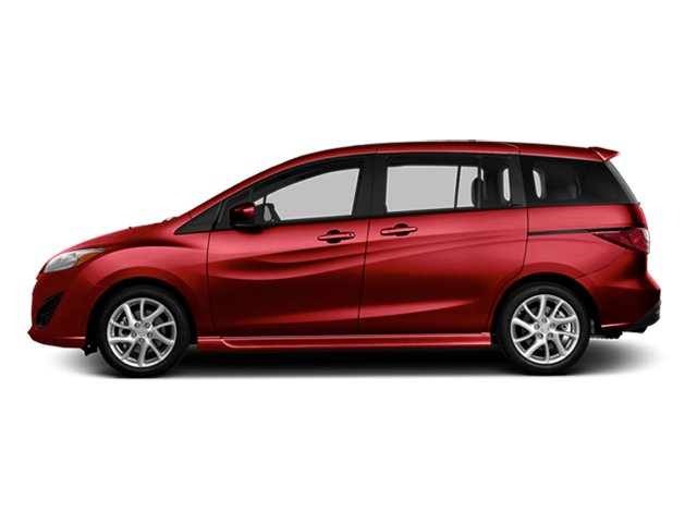 Zeal Red Mica 2014 Mazda Mazda5 Pictures Mazda5 Wagon 5D Touring I4 photos side view